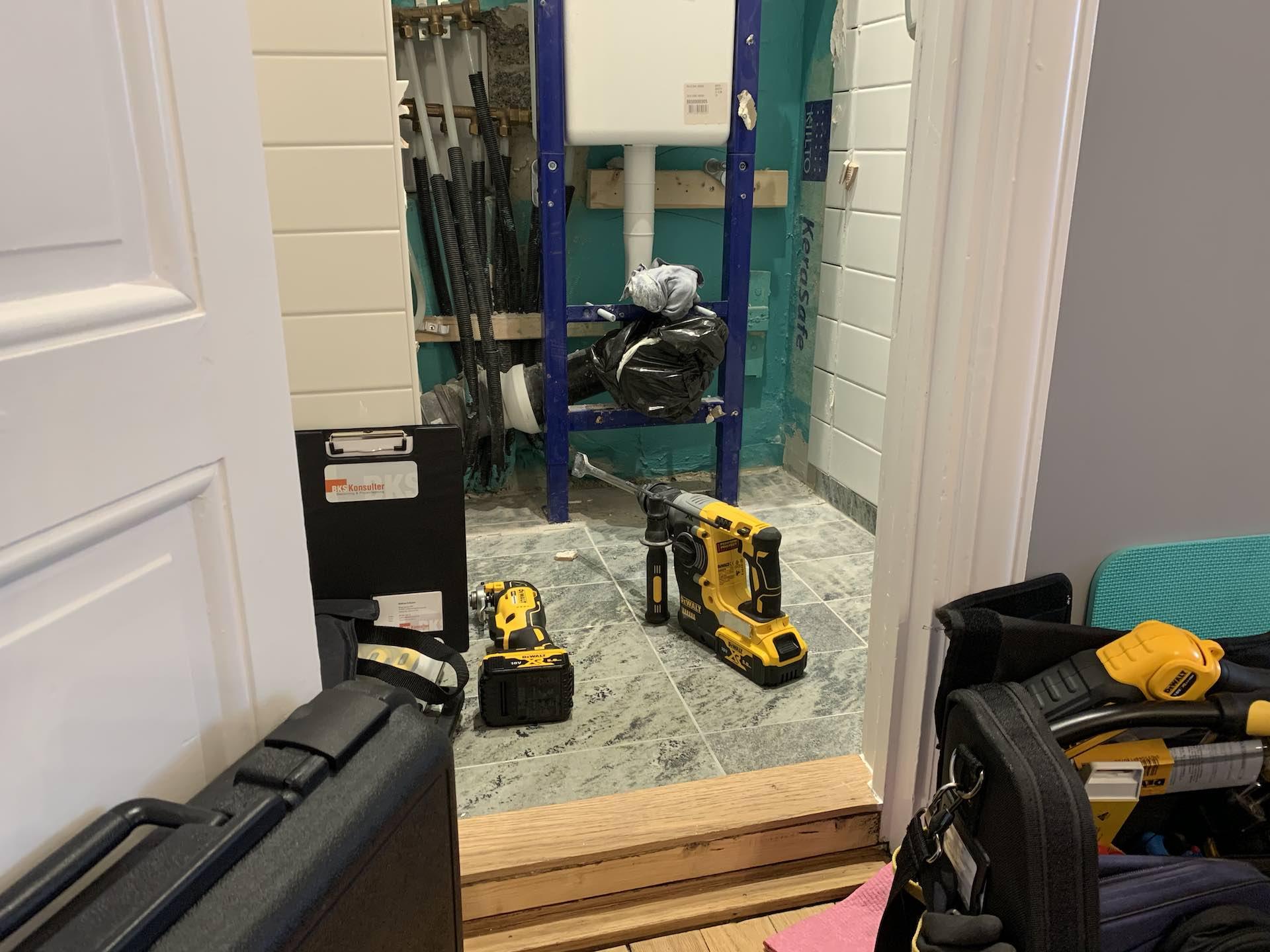 Skadeutredning badrum vasastan