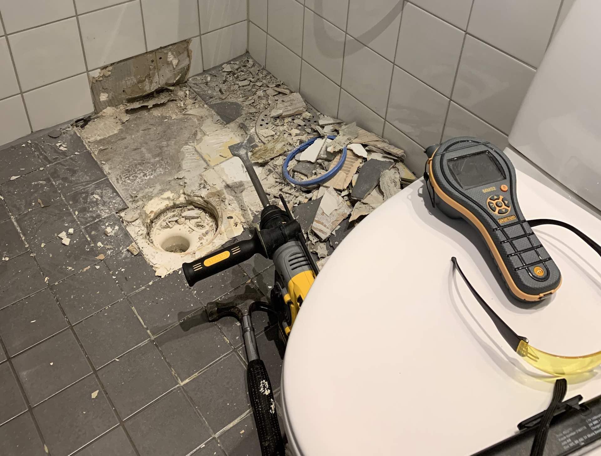 Skadebesiktning badrum Södermalm